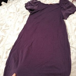 Juicy Couture/S purple dress.Silk and polyester